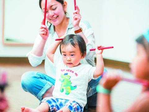 子供の発達を促す音楽遊び♪Music Together 新春体験会