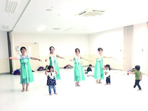 ママ・プレママのための子連れフラダンス体験レッスン