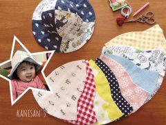 かにさん'sベビー企画「ダブルガーゼで作るベビー春夏帽子」
