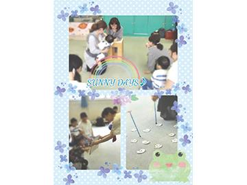 英語と音楽の[音]を楽しむ親子サークル SUNNY DAYS♪